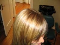 Natural blonde highlights low lights