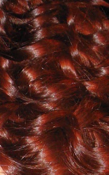 Deep copper red hair. Hair colour for skin tone ...
