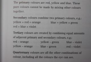 colour pigment guide
