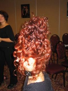 cascading curls