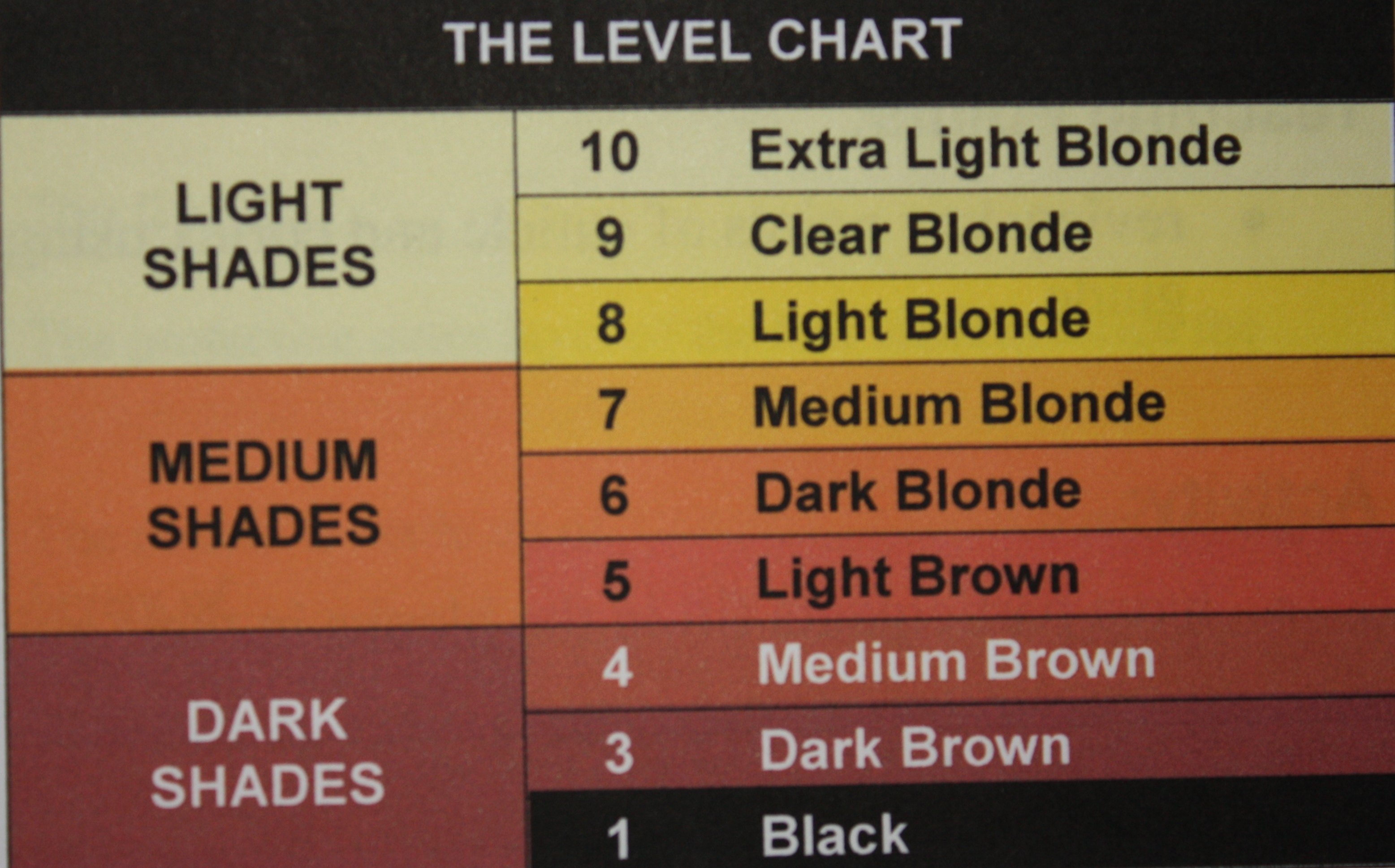 Corrective hair colour charts back2myroots page 2 four geenschuldenfo Image collections